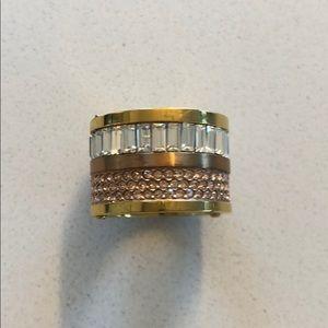 Michael Kors Barrel Ring size 7